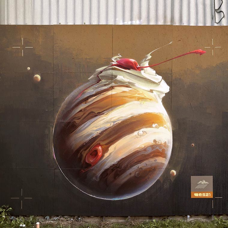 Street Art – The awesome creations of Wes21