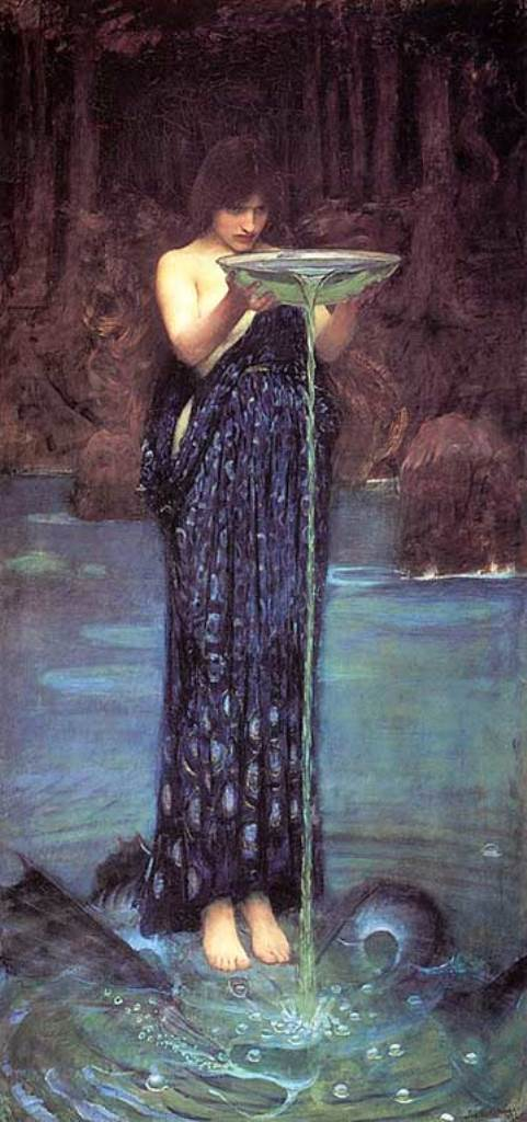 55John Williams Waterhouse l'envieuse Circe.jpg