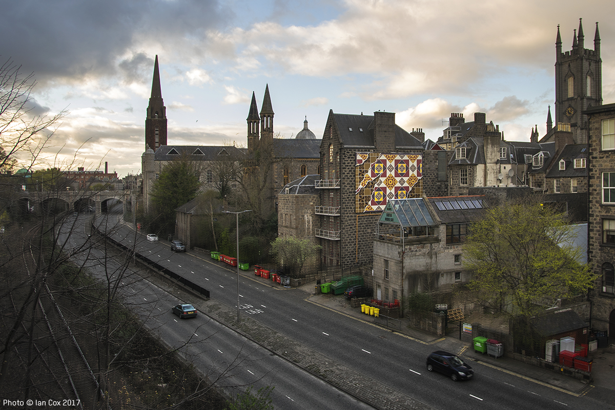 Streets: Nuart Aberdeen 2017 (Part II) (8 pics)