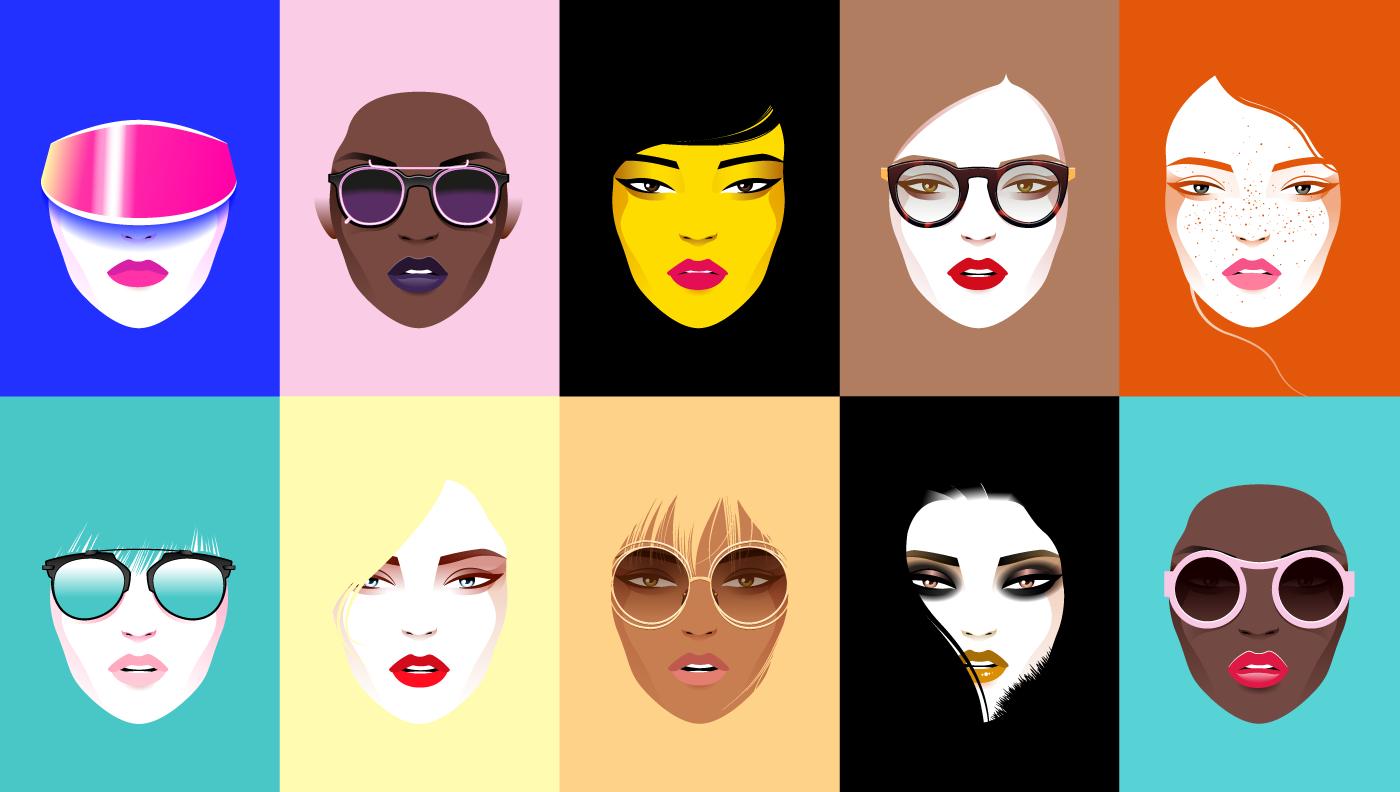 As diversas faces da moda