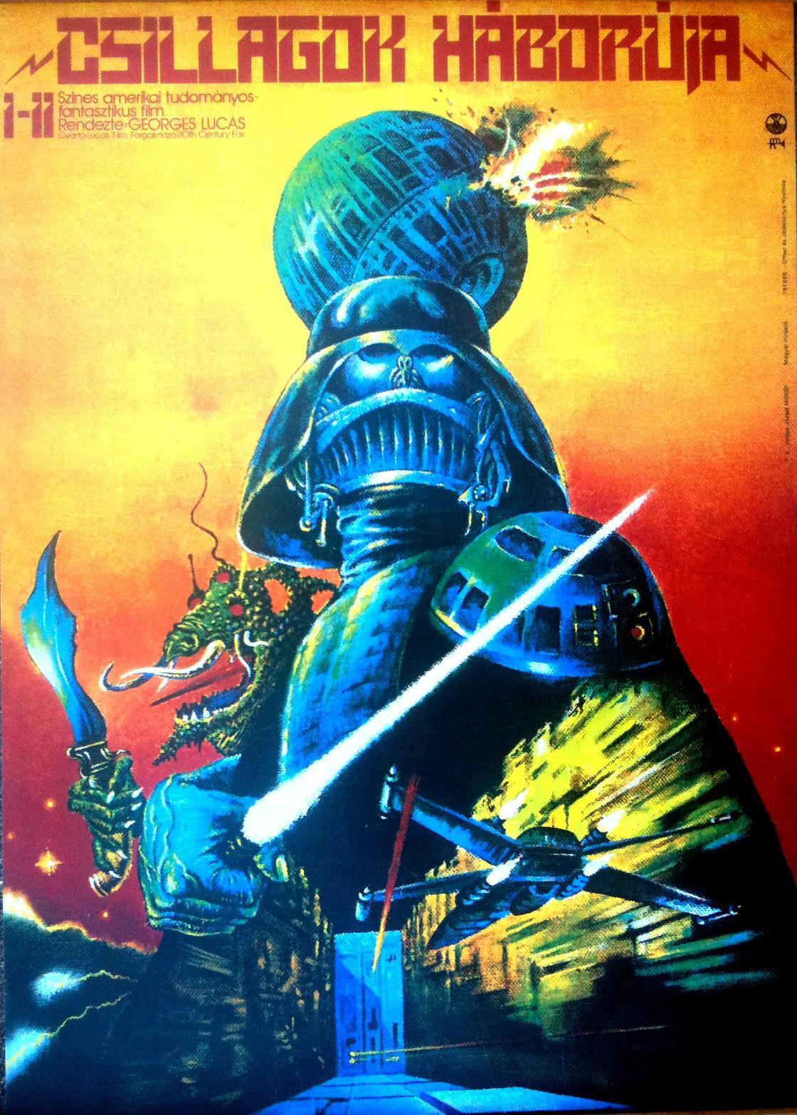 Soviet Star Wars – A quoi ressemblaient les affiches de Star Wars en URSS