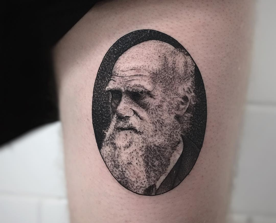 Iconic Black and White Tattoos