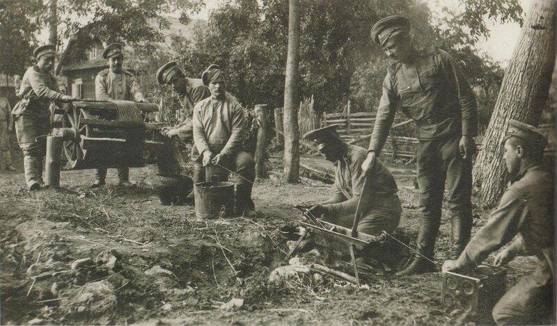 Техника Первой Мировой.