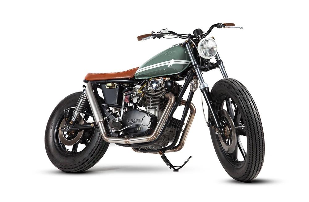 Maria Motorcycles: кастом Yamaha XS650