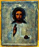 НВ-1207-9 Икона «Спас Вседержитель» в окладе. 19 – н.20 вв. вид 1.jpg