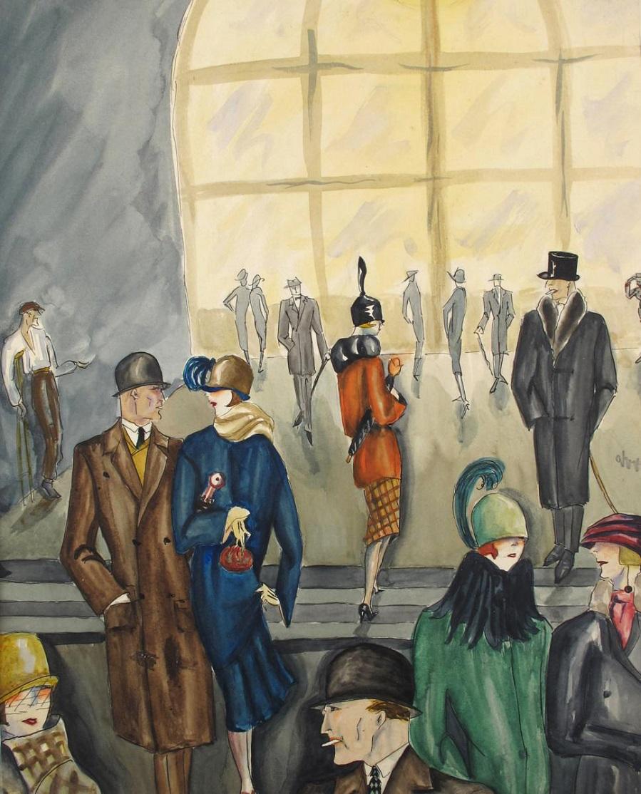 Straßenszene , 1920