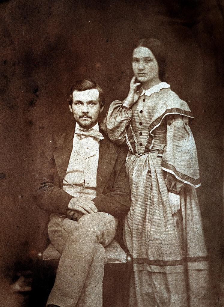 1857. Лейтенант Хенслоу и его сестра