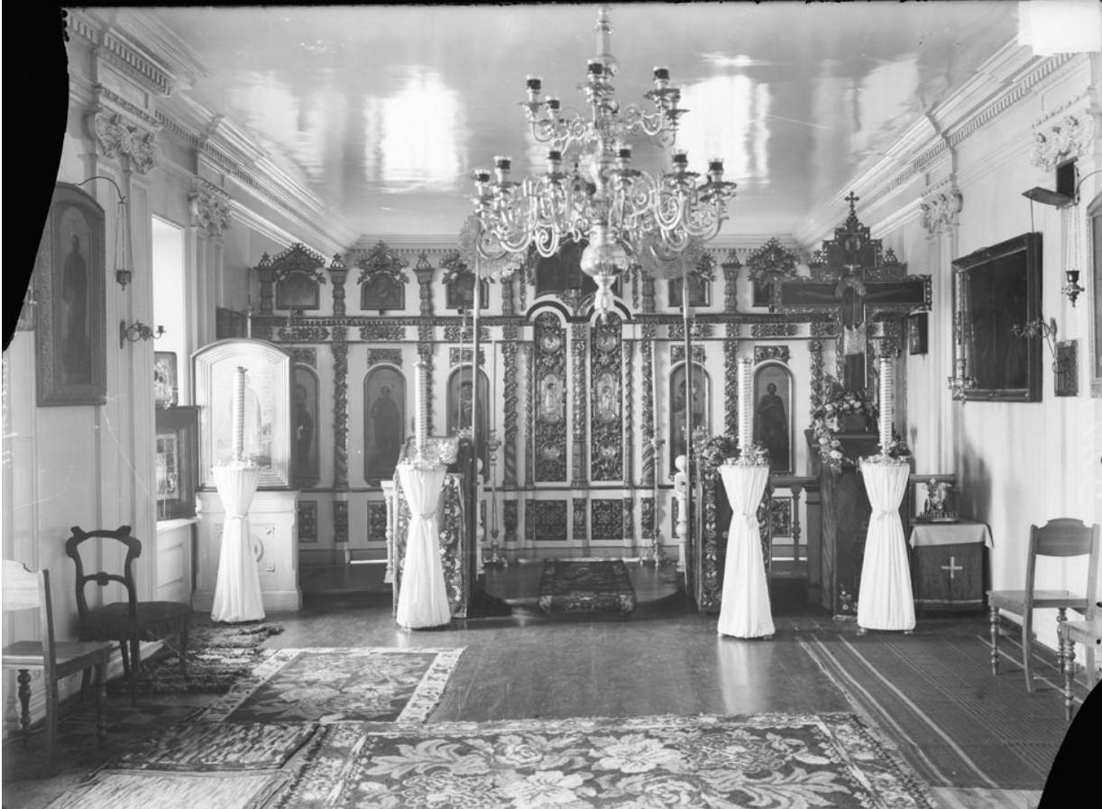 Иконостас Александро-Невской церкви при Дворянском мужском институте им. Императора Александра II