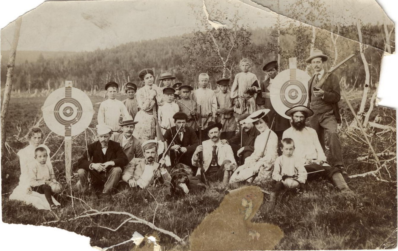 На стрельбах. 1910-е