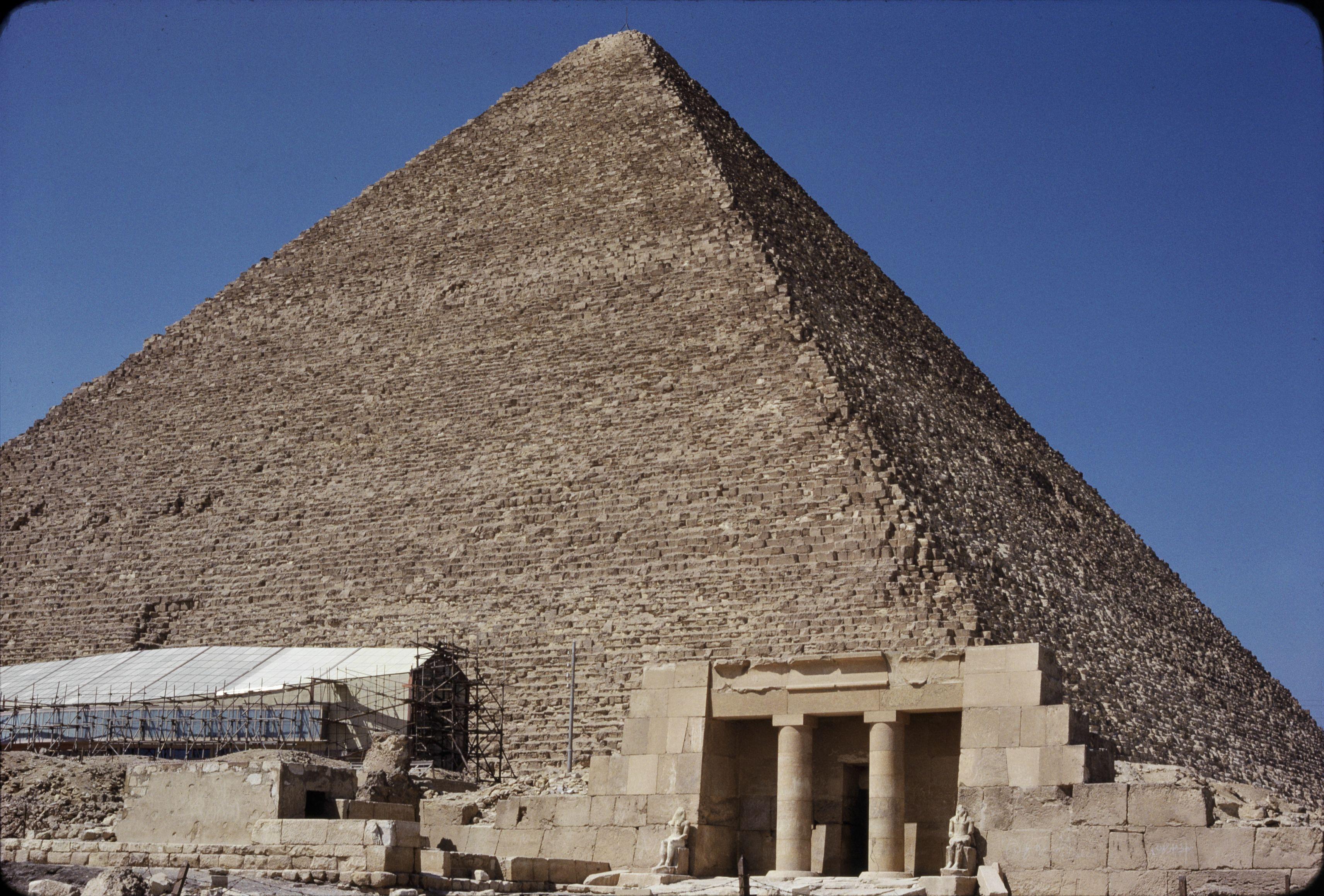 04. Гиза. Пирамида Хеопса с юга