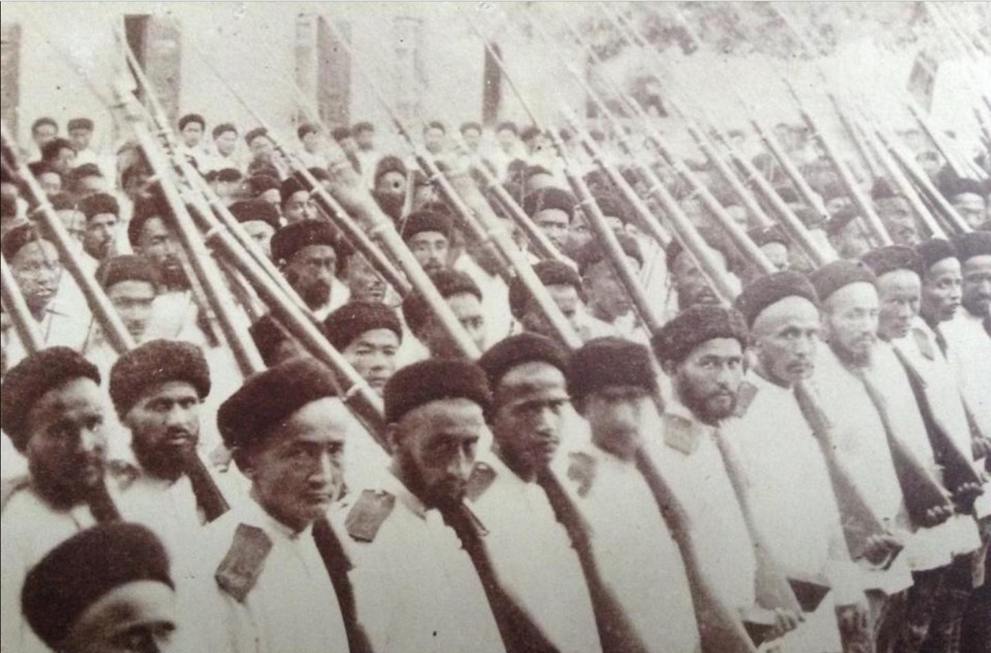 Бухарские солдаты