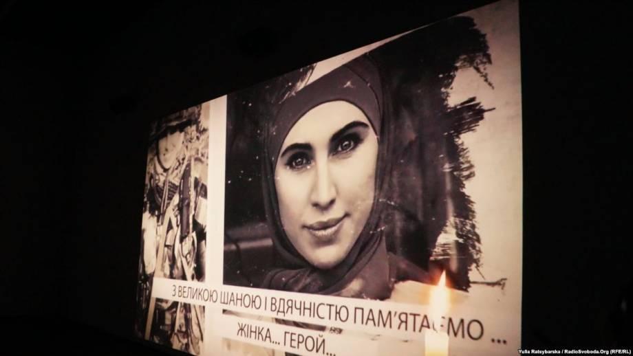 В Днепре открыли выставку фото и личных вещей Амины Окуевой