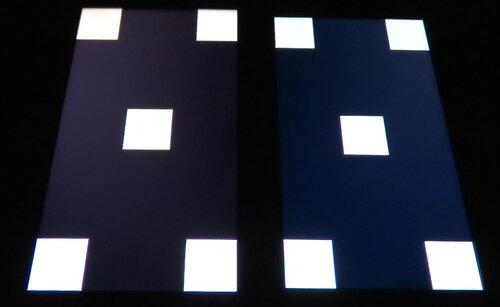 Дисплей, чёрный фон