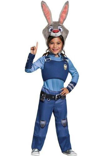 Детский карнавальный костюм Джуди Хоппс из мультфильма Зверополис