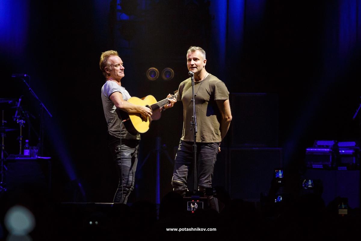 Стинг в Минске. Прошло 7 лет и Sting вернулся к нам с новой программой Sting Tour 2017. Фотографии с концерта Стинга в Минск-Арене