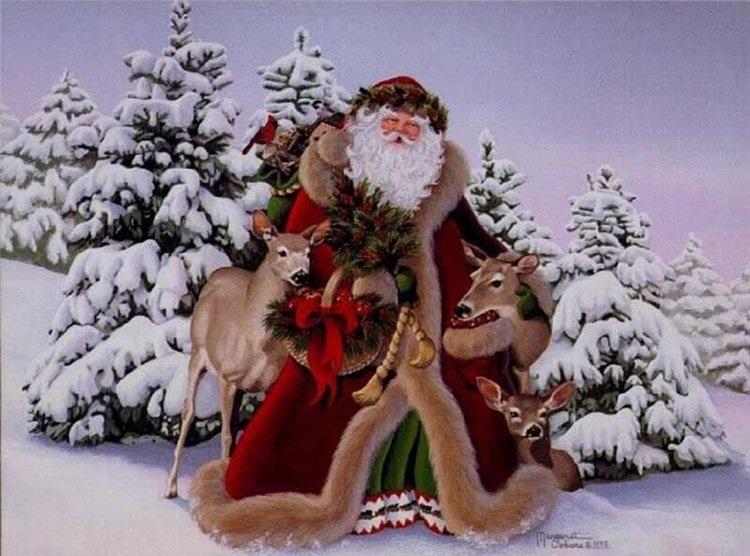 Русский Дед Мороз.