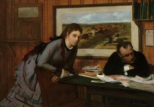 Edgar Degas - Sulking
