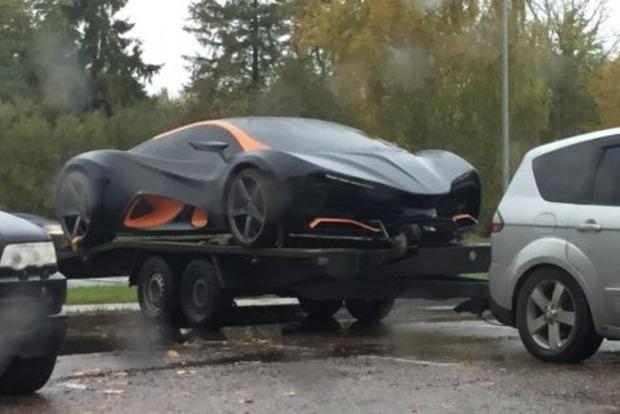 Первый украинский суперкар Himera Qзасняли вЛатвии