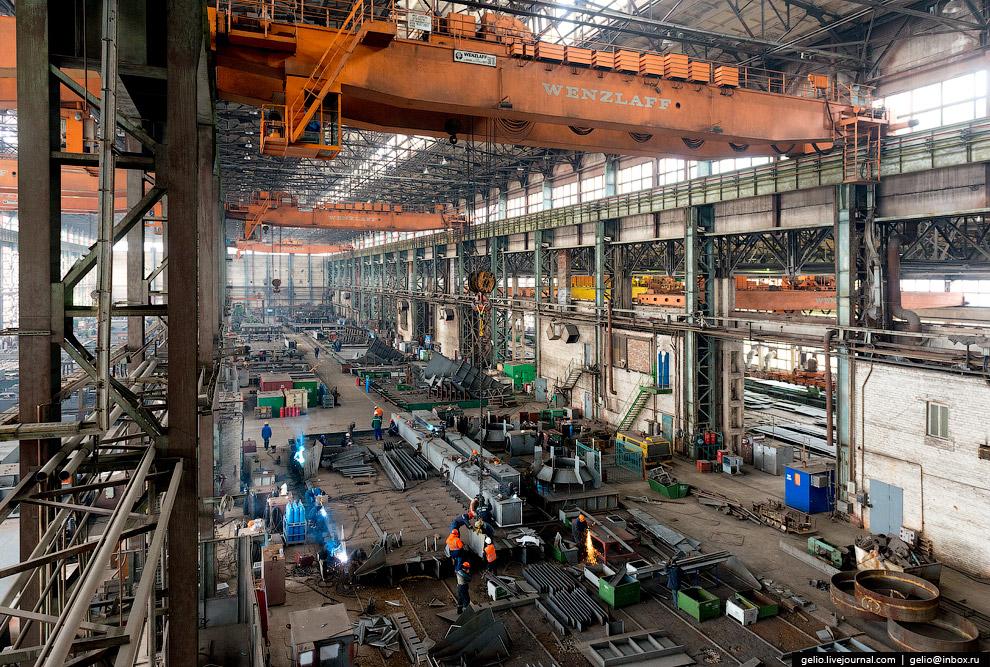 64. Производственная мощность по изготовлению металлоконструкций в цехах корпусообрабатывающего прои