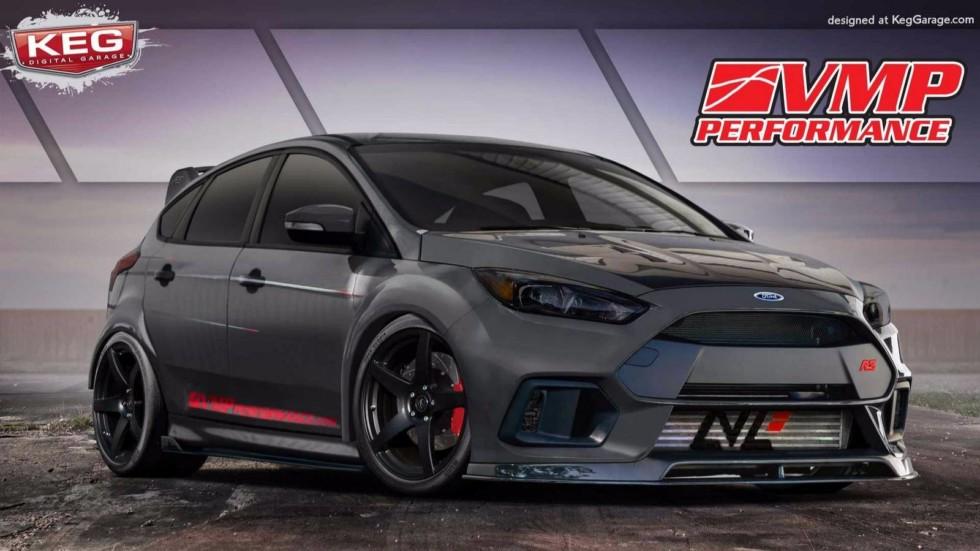 Ford Focus RS стал донором для проекта VMP Performance. Этот автомобиль был подготовлен с уклоном на
