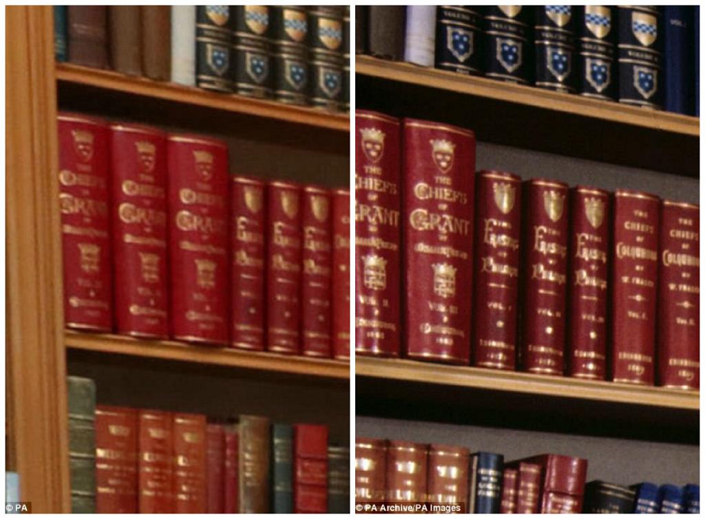 Книги на полках стоят в том же порядке, что и 40 лет тому назад.