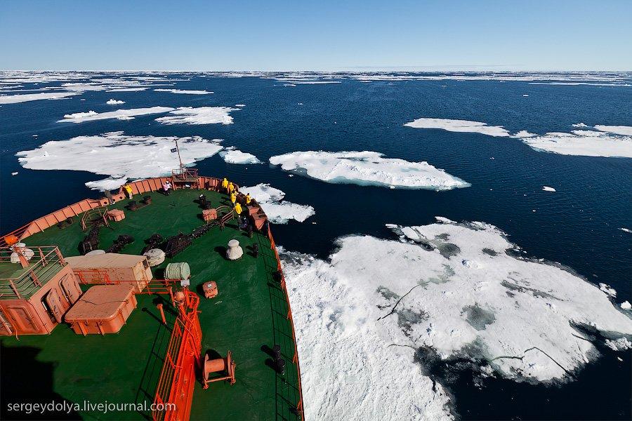 Путешествие на Северный полюс. Часть 1