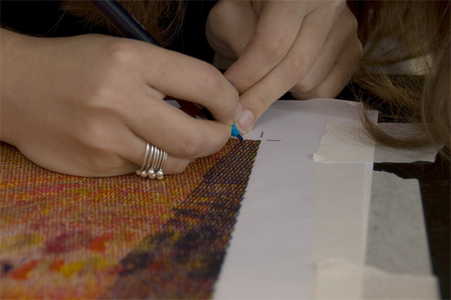 The Human Printer: CMYK Halftone Prints Recreated by Hand