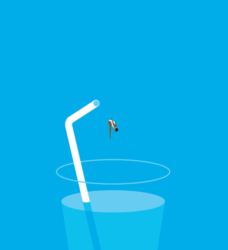 Minimalistic Illustrations by Ben Wiseman