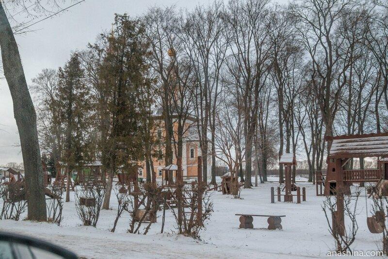 Храм во имя Казанской иконы Божией Матери, Детский городок, Углич