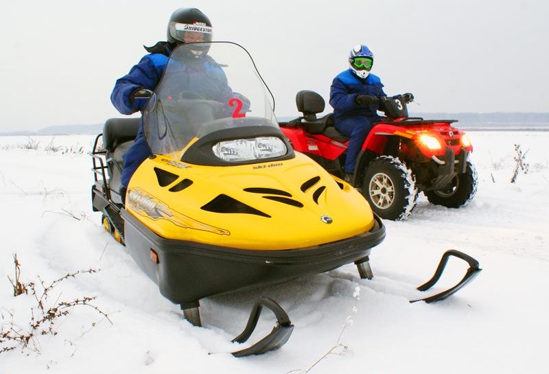 Как лучше получить права на управление снегоходом или квадроциклом