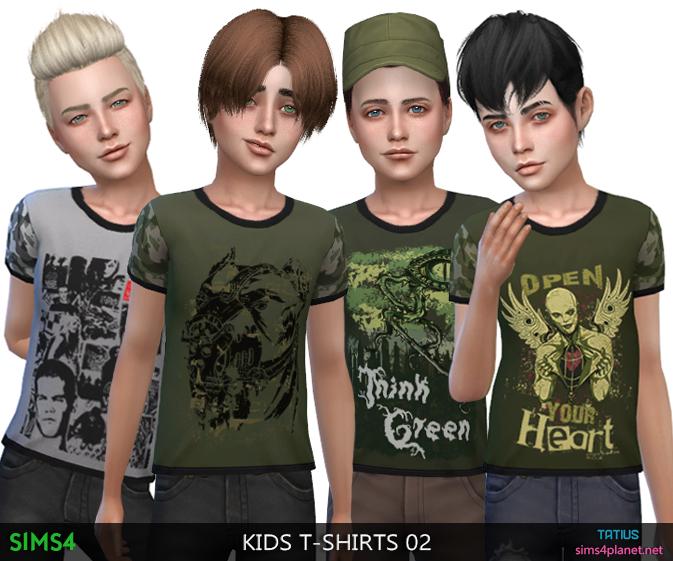 Tatius. Kids T-Shirts 02