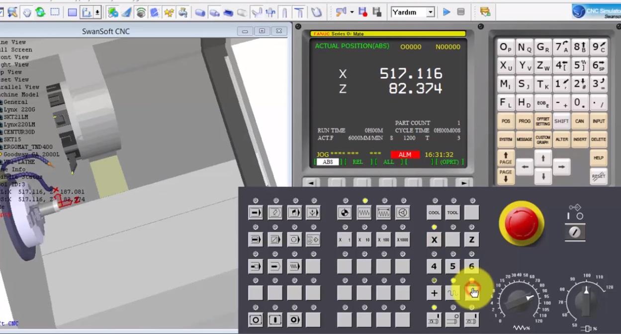 SSCNC Simulator