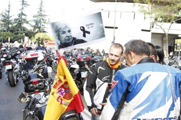 Топла заполнила улицы Мадрида и попрощалась с Анхелем Нието