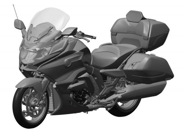 Новый мотоцикл  BMW K1600C представят на EICMA 2017?!