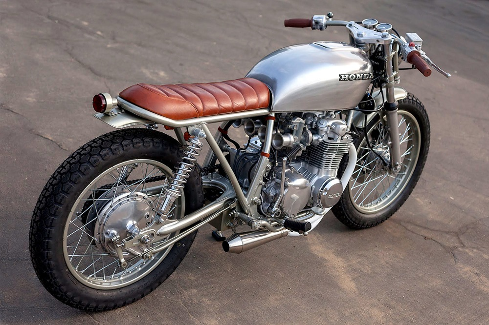 Ready Moto: брэт-кастом Honda CB550K Ginger