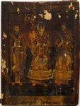 НВ-987 Икона «Св. Василий Великий, Григорий Богослов, Иоанн Златоуст»..jpg