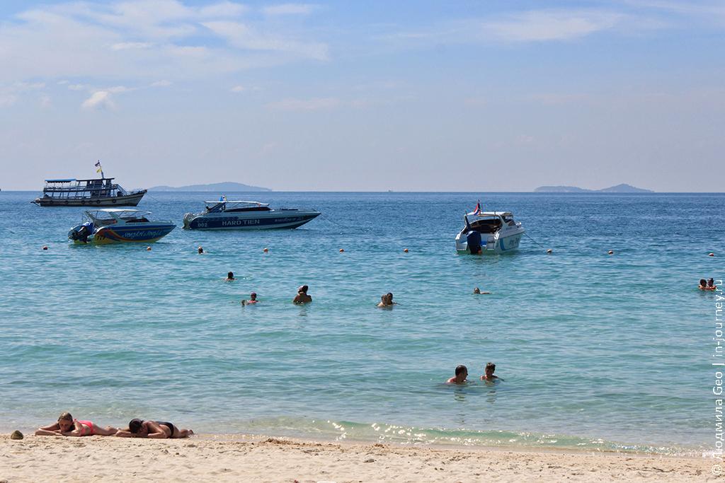 фото пляжа тьен на острове ко лан