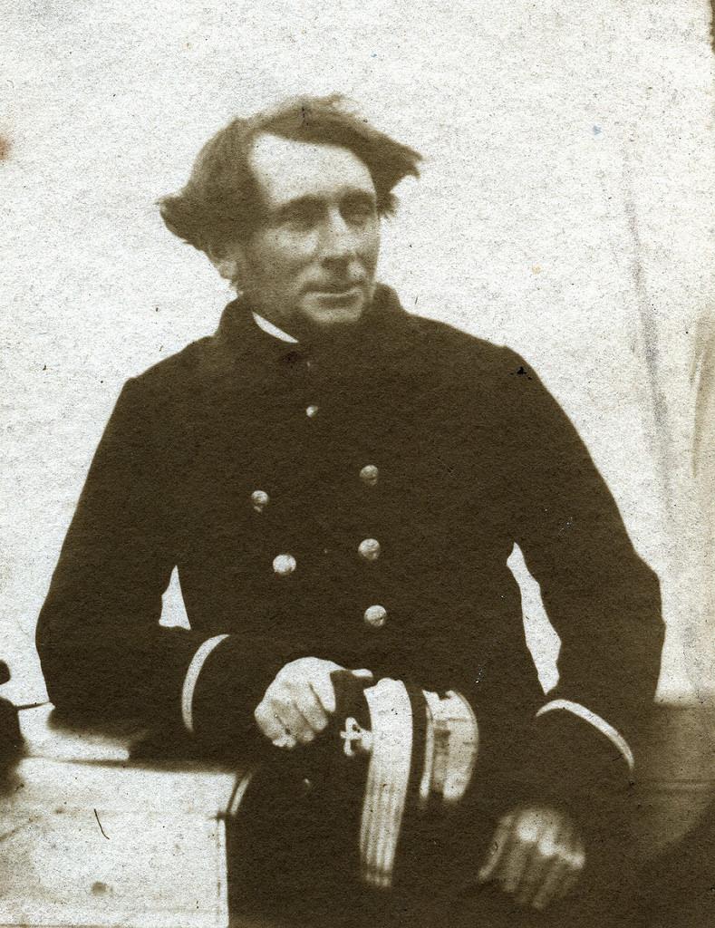 1850. Морской офицер
