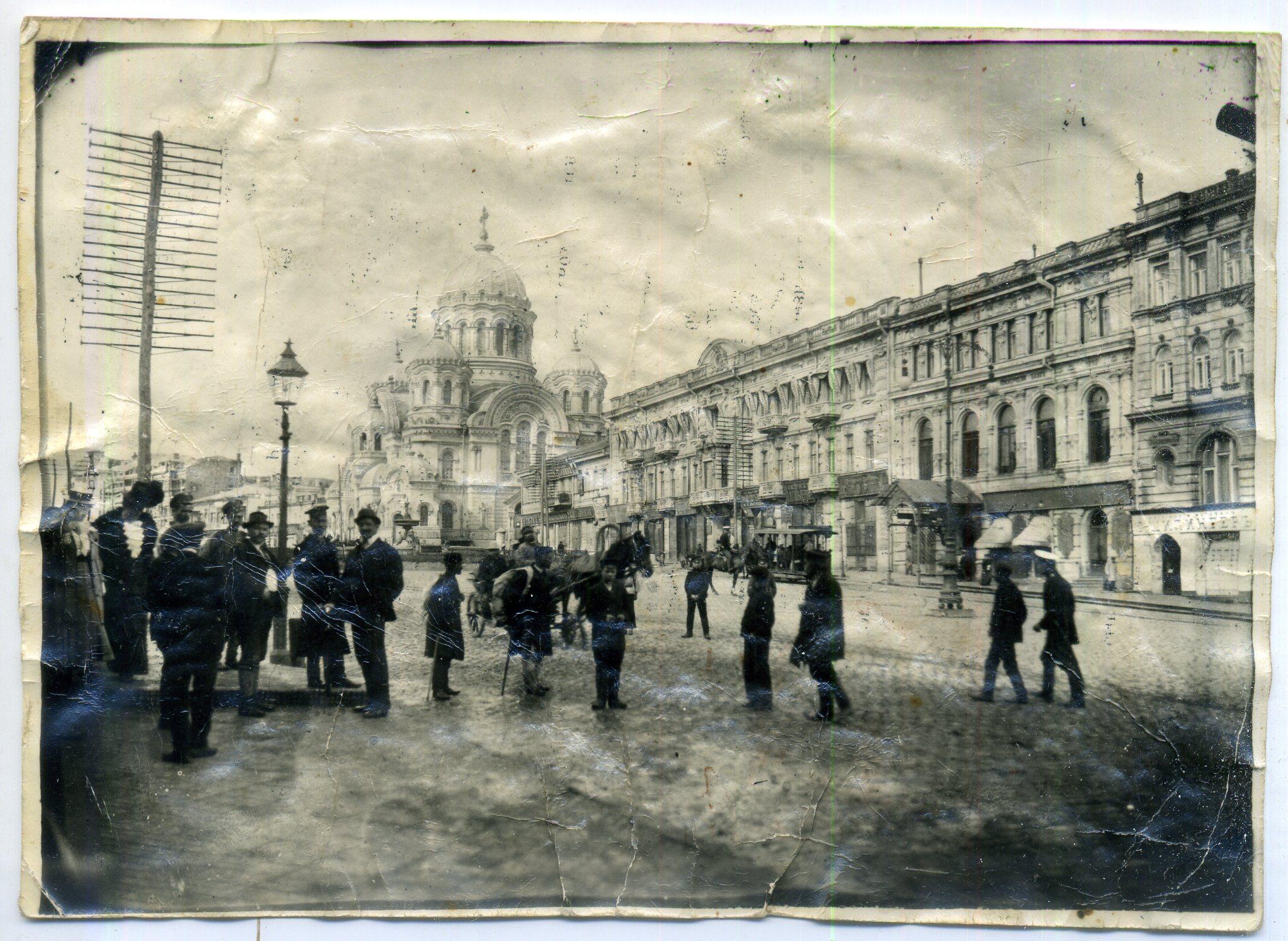 Николаевская площадь от Городской управы