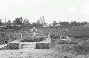 Могилы павших немецких солдат