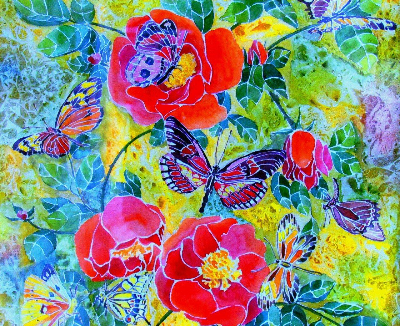 анжелика жукова, 15 лет. рай для бабочек.диптих.jpg
