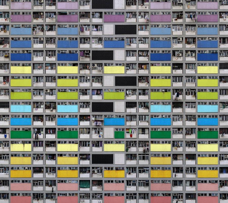 Городская жизнь на снимках Михаэля Вольфа