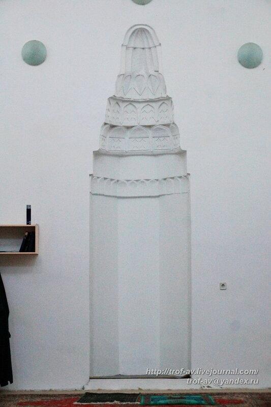 Мечеть Муфти-Джами (XVII в.), ниша с михрабом, Кефе/Феодосия