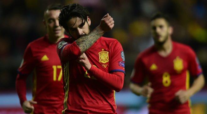 Испания дома разгромила Италию