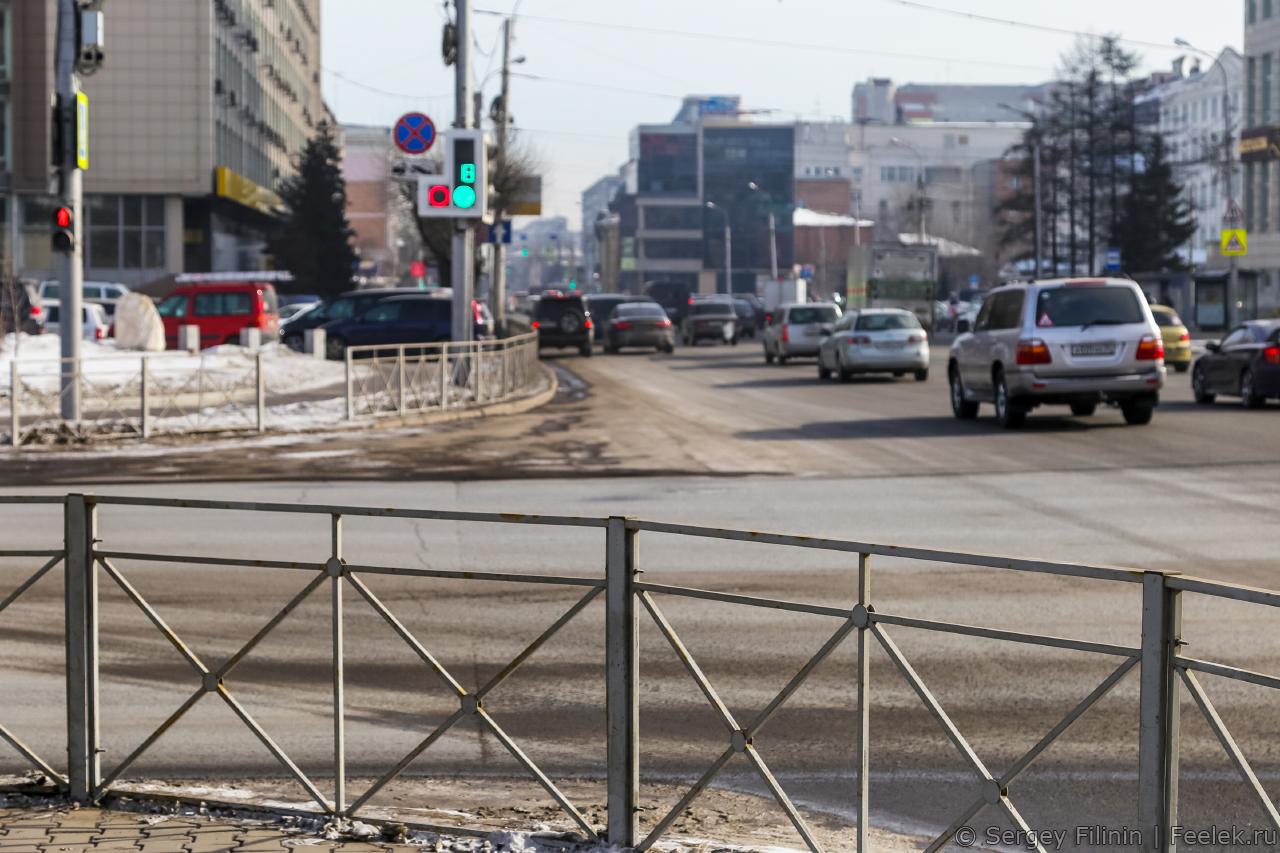 Красноярск за год до Универсиады. Прогулка по городу