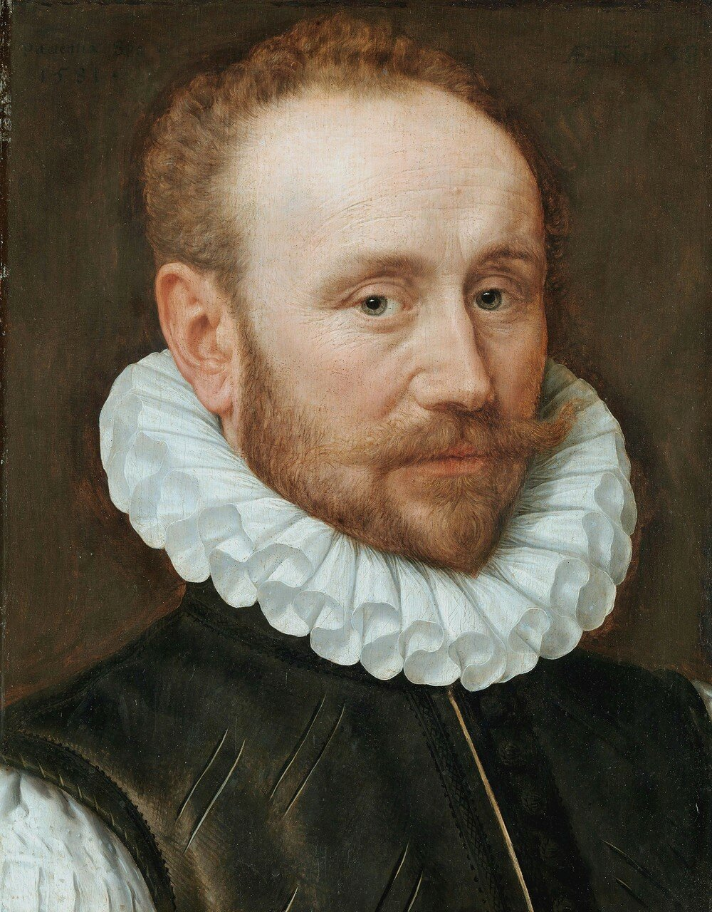 Portrait of a man, by Adriaen Thomasz Key