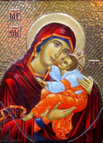 """Икона Божией Матери """"Гликофилуса""""."""