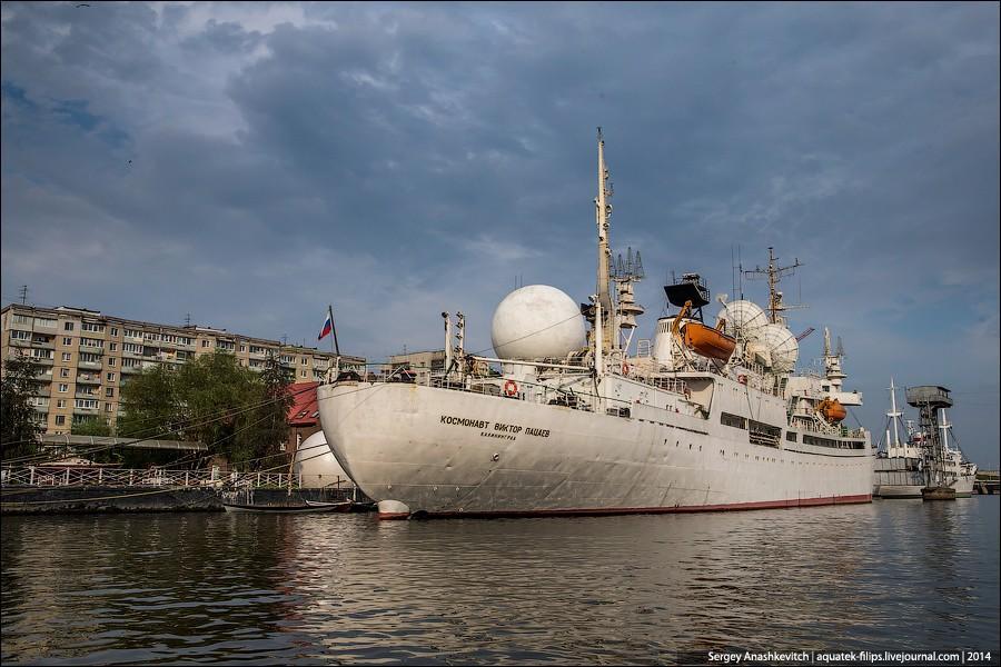 31. Научно-исследовательское судно «Космонавт Виктор Пацаев» — единственное в мире судно космической