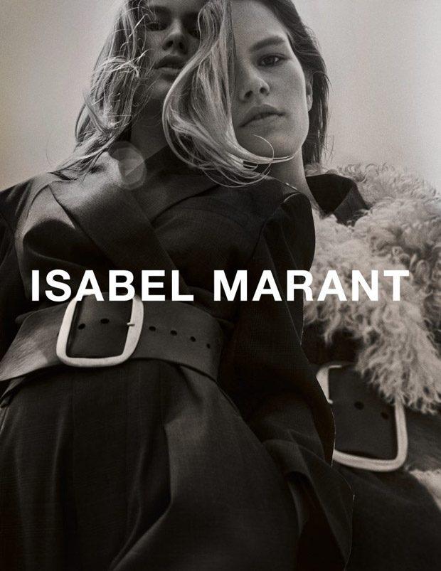 Осенне-зимняя рекламная кампания Isabel Marant (9 фото)