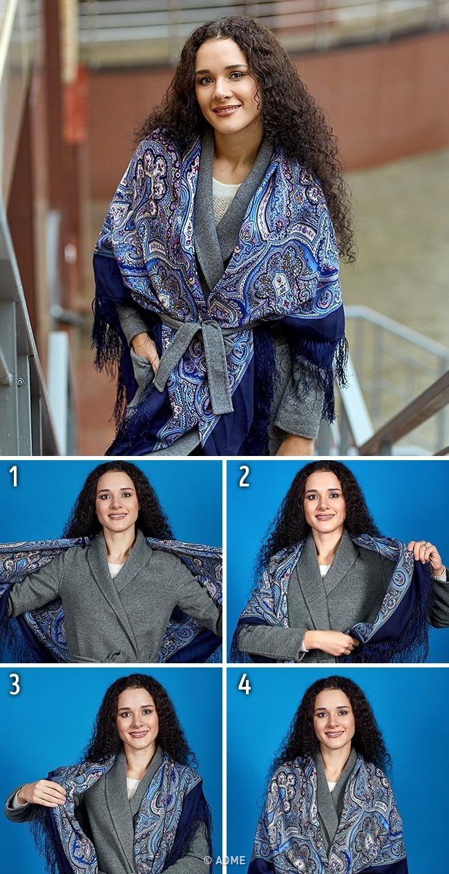 5видов шарфов, которые стоит включить восенний гардероб (10 фото)